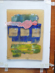 printmaking, monoprint, mark making, open acrylics, gelliprint, gelli art